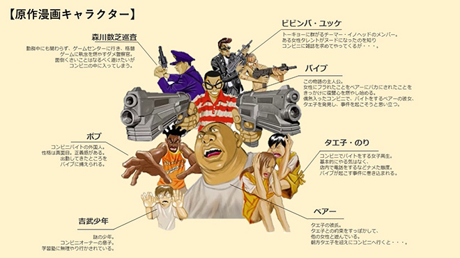 BORN 2 DIEキャラ紹介
